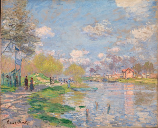Claude-Monet-Spring-by-the-Seine