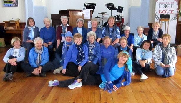 Saffron Walden U3A, Keep Fit, Blue Charity Week